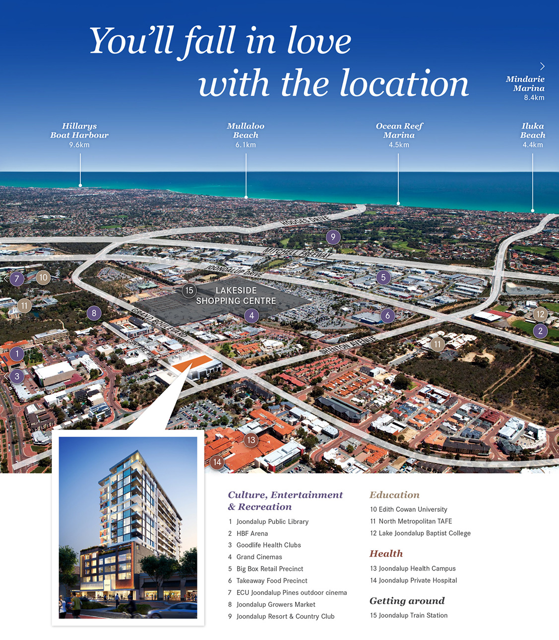 Arthouse Aerial Map Joondalup