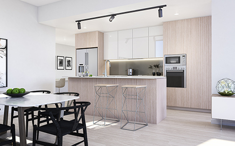 Lustre Scheme Dining Room | Arthouse Apartments Joondalup