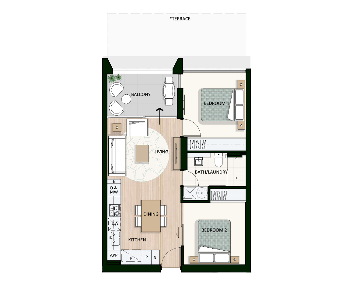 Apartment 810 | Arthouse Apartments Joondalup