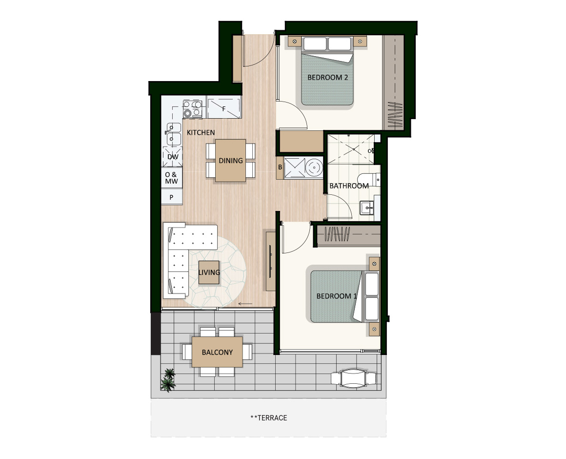 Apartment 805 | Arthouse Apartments Joondalup